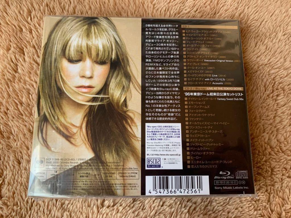 新品未開封 Mariah Carey マライア・キャリー The Rarities レアリティーズ 日本盤 2CD+Blu-ray 高音質 BSCD2 定価7700円 best 送料無料