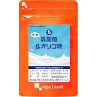 送料無料 ★ オーガランド ナノ型 乳酸菌&オリゴ糖(約1ヶ月分)サプリメント_画像1
