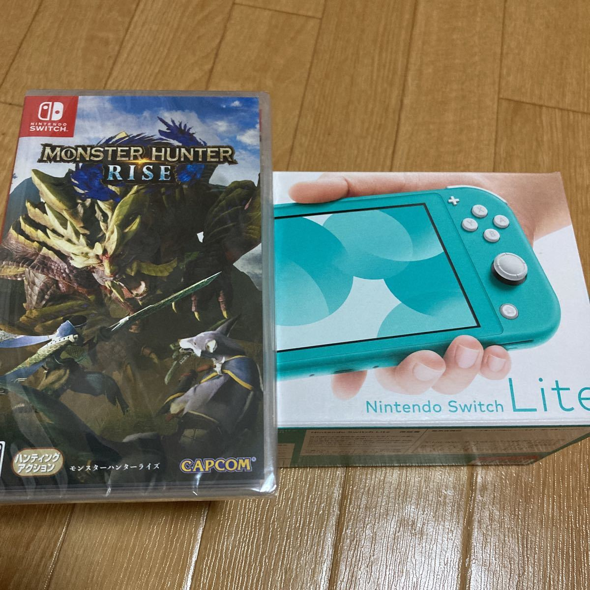 Nintendo Switch本体 ニンテンドースイッチライト  モンスターハンターライズ モンハン ニンテンドースイッチ本体