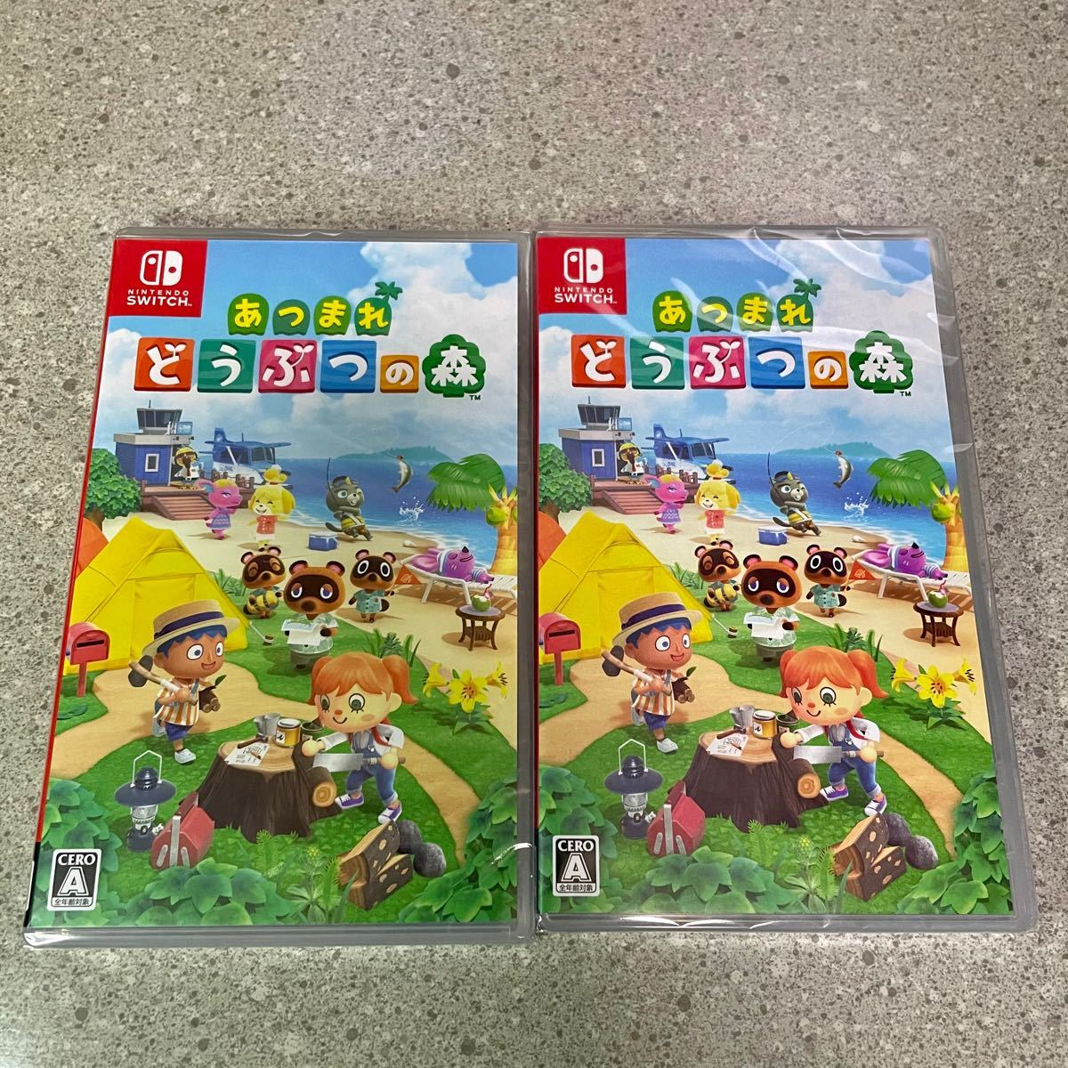 Nintendo Switch【新品未開封】あつまれ どうぶつの森ソフト 2本セット 1