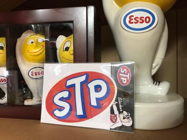ステッカー STP ロゴ 検索用→ムーンアイズ ユノカル76 ワコーズ アメリカン雑貨 MOONEYES_画像1