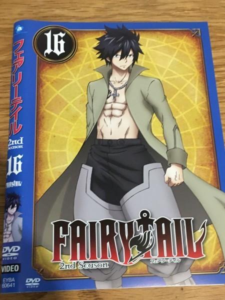FAIRY TAIL フェアリーテイル 2nd Season レンタル落ち 16 DVD です Y12_画像1