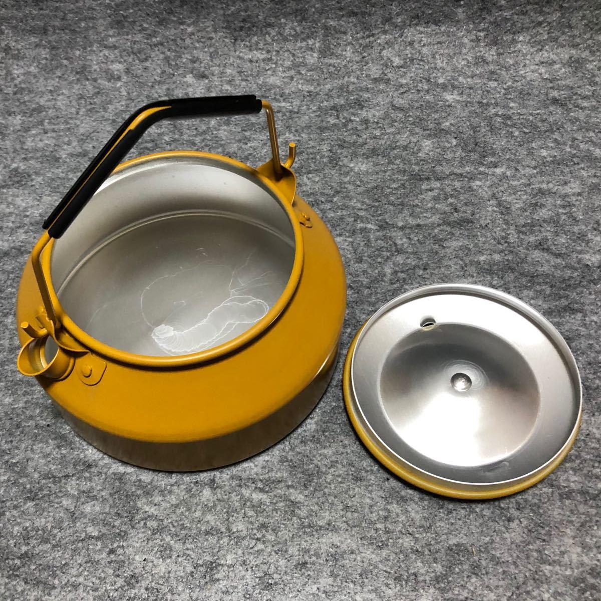 トランギア ケトル TR-SN324 0.9L  GOLDEN YELLOW trangia  series25