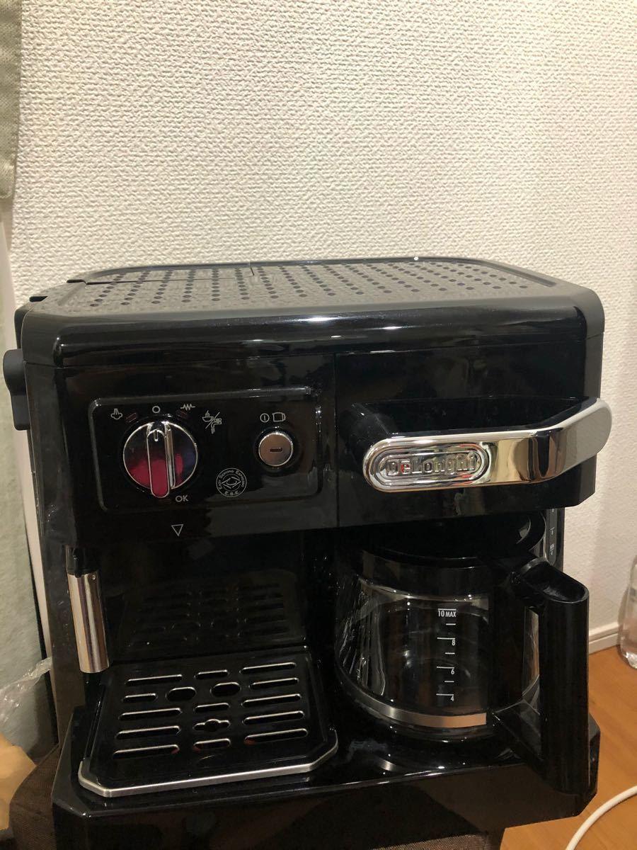 デロンギ コンビ コーヒーメーカー BCO410 エスプレッソ カプチーノ
