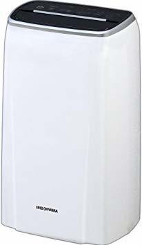ホワイト 1)省エネパワフル除湿(風向 角度調節可) アイリスオーヤマ 衣類乾燥除湿機 強力除湿 イオン搭載 湿度センサー付 タ_画像1