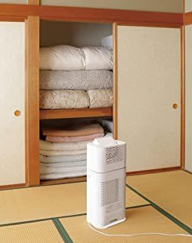2)ホワイト/グレー アイリスオーヤマ 衣類乾燥除湿機 スピード乾燥 サーキュレーター機能付 デシカント式 ホワイト/グレー I_画像6