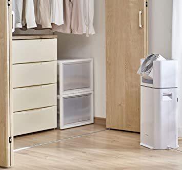 2)ホワイト/グレー アイリスオーヤマ 衣類乾燥除湿機 スピード乾燥 サーキュレーター機能付 デシカント式 ホワイト/グレー I_画像5