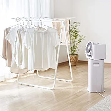 2)ホワイト/グレー アイリスオーヤマ 衣類乾燥除湿機 スピード乾燥 サーキュレーター機能付 デシカント式 ホワイト/グレー I_画像2
