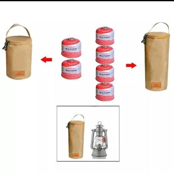 おしゃれなランタンケース ガス缶ケース 新品未使用