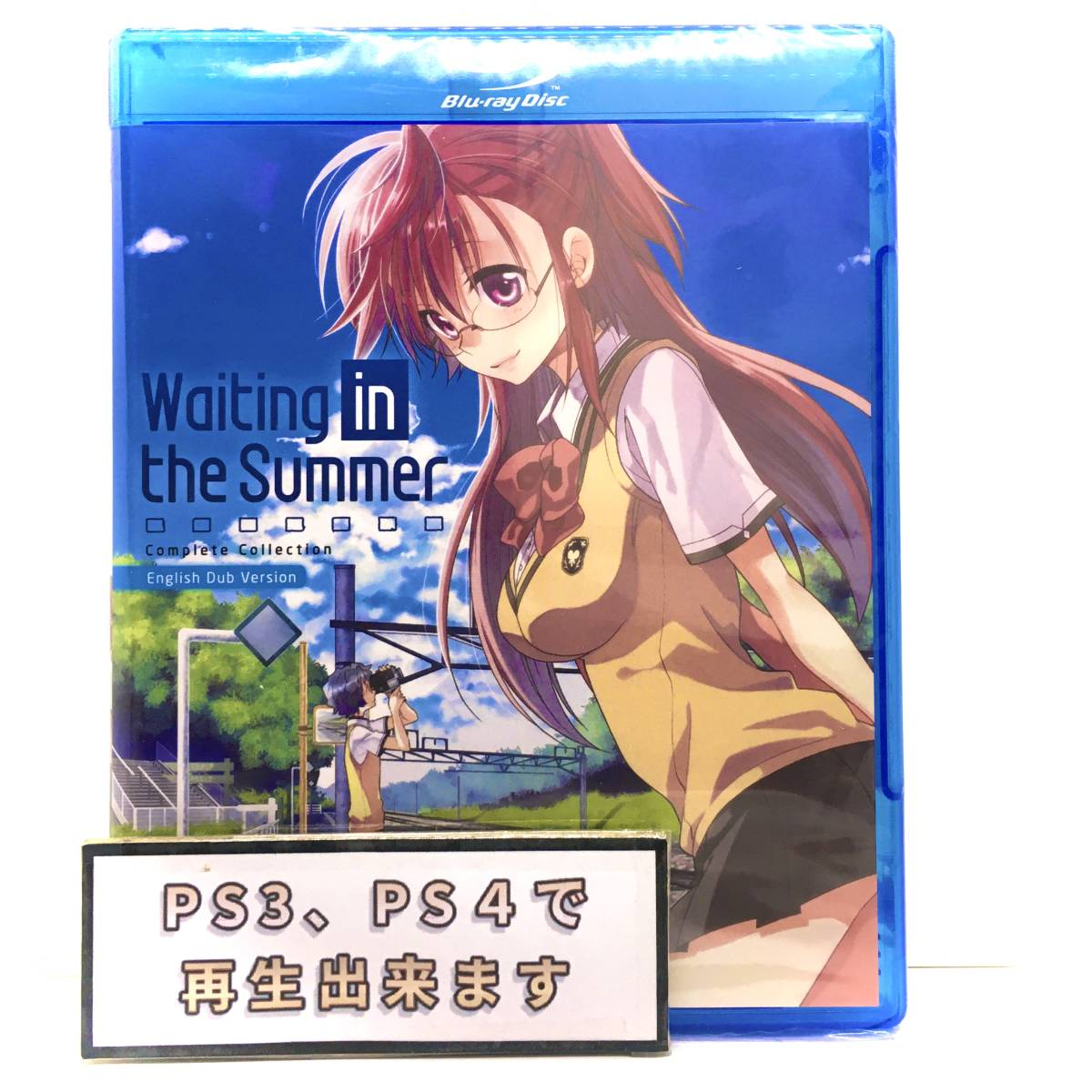 【送料無料】 新品 あの夏で待ってる Blu-ray 北米版ブルーレイ