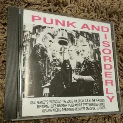 CD PUNK AND DISORDERLY 激レア