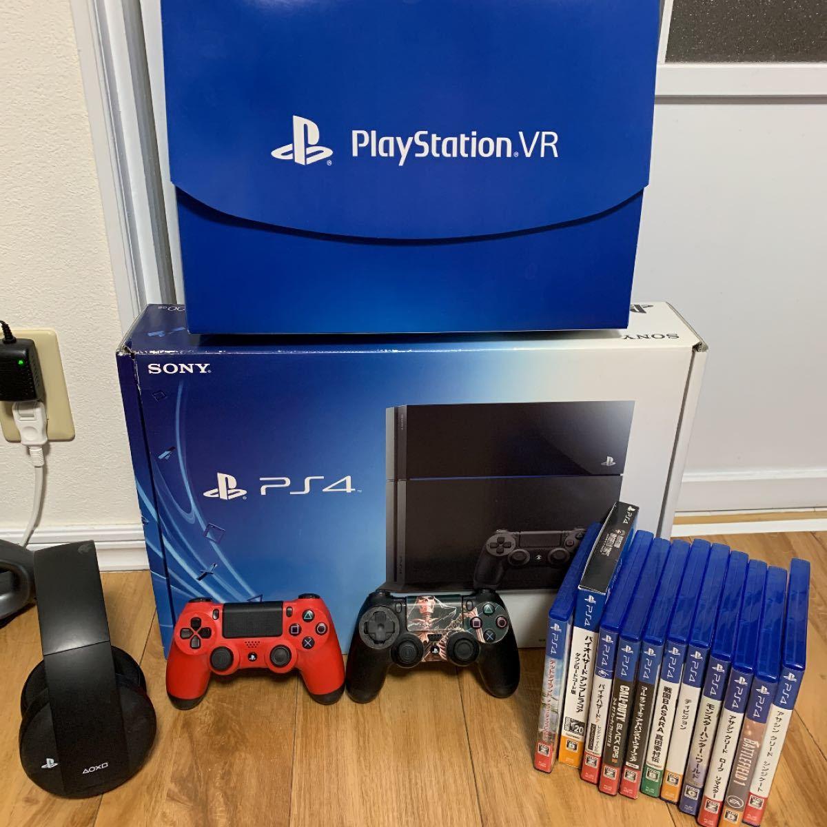 PlayStation4 PlayStationVR プレイステーション4ソフト PlayStationヘッドホン コントローラー