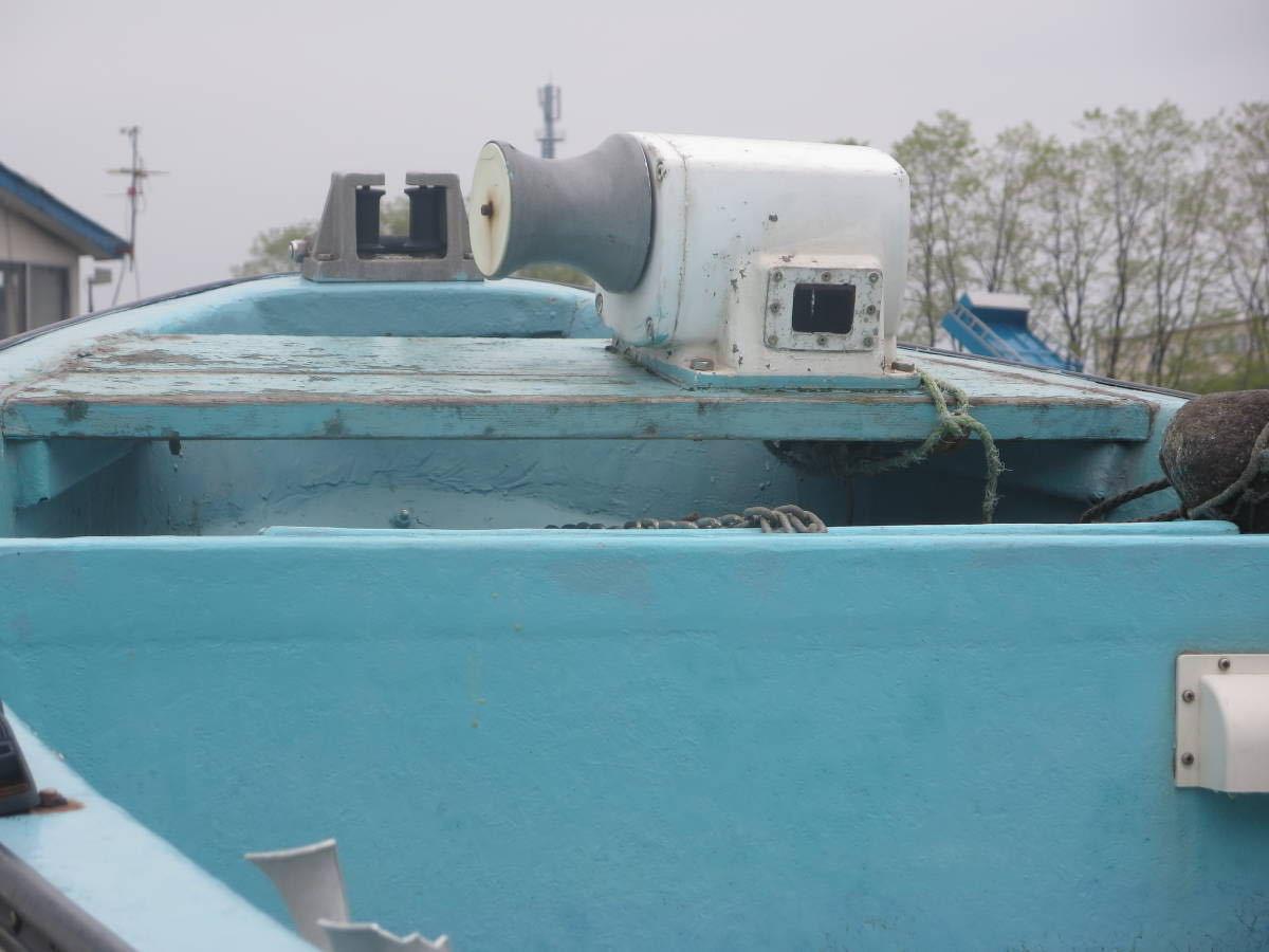 ヤマハ W-18E エンジン無し(別途御座います25~30ps) ラット付き リモコン仕様_画像3