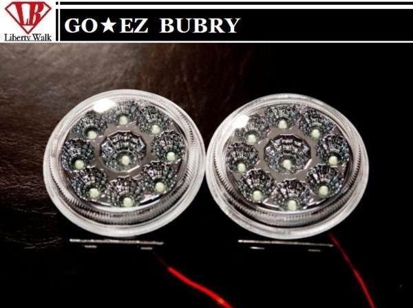【M's】スズキ エブリィ バン DA17V フル エアロ 3点 セット LED付 GO EZ BUBRY/Liberty Walk SUZUKI EVRY 17 エブリイ エブリー LB_画像10
