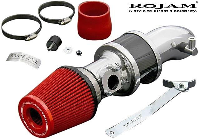【M's】TOYOTA 50RAV4 M20A-FKS (2.0L 2WD/4WD ガソリン車) ROJAM ZERO-1000 エアーインテークキット / ロジャム レッド ラブ4 60-ai-rav_画像1