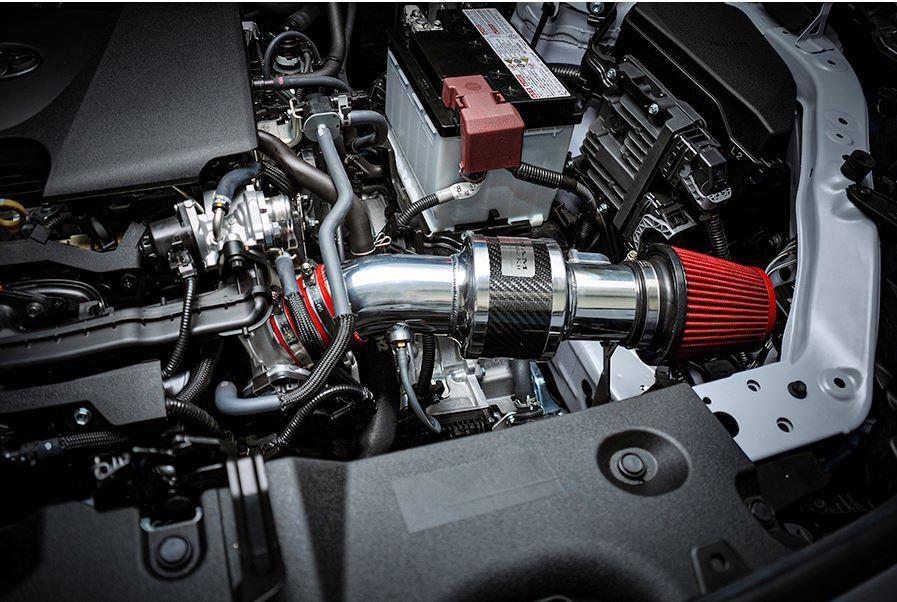 【M's】TOYOTA 50RAV4 M20A-FKS (2.0L 2WD/4WD ガソリン車) ROJAM ZERO-1000 エアーインテークキット / ロジャム レッド ラブ4 60-ai-rav_画像4