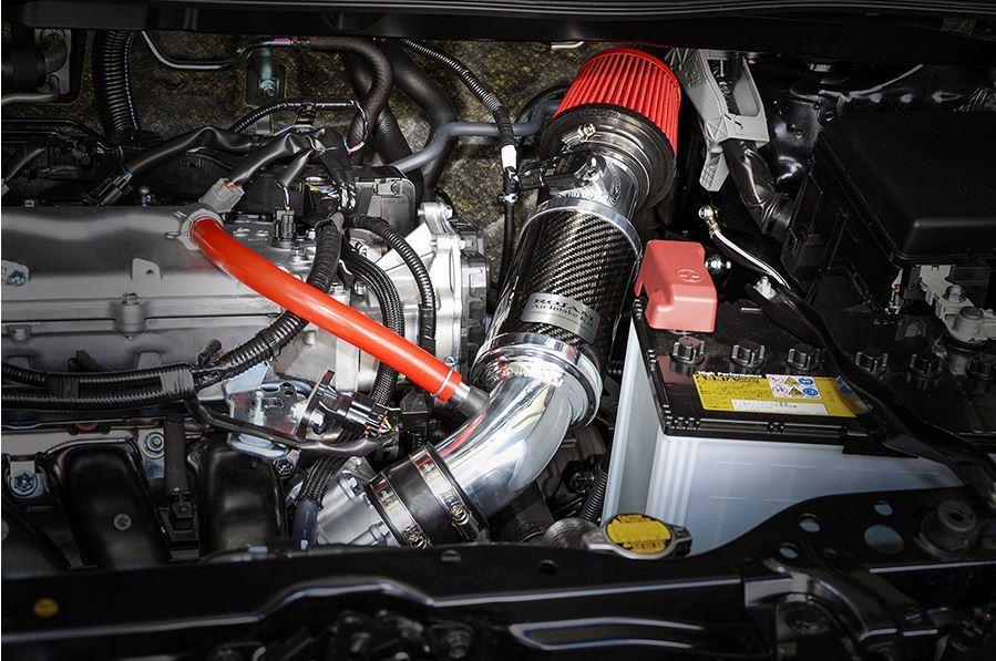 【M's】TOYOTA 50RAV4 M20A-FKS (2.0L 2WD/4WD ガソリン車) ROJAM ZERO-1000 エアーインテークキット / ロジャム レッド ラブ4 60-ai-rav_画像5