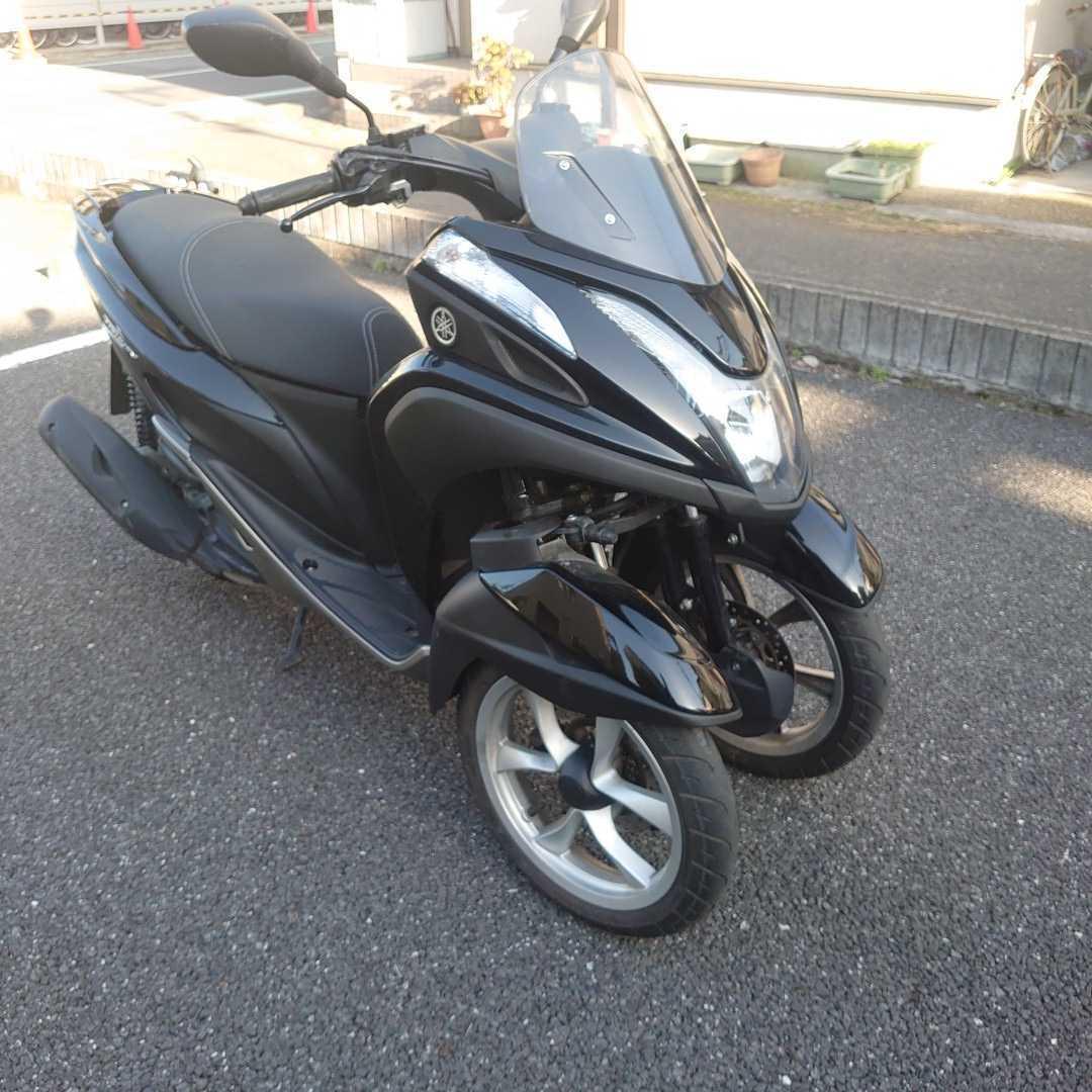トリシティ125側車付オートバイ登録。普通免許仕様_画像3