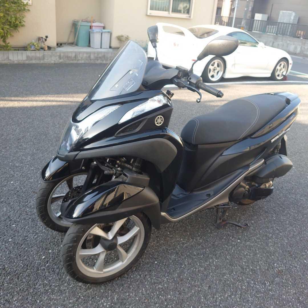 トリシティ125側車付オートバイ登録。普通免許仕様_画像2