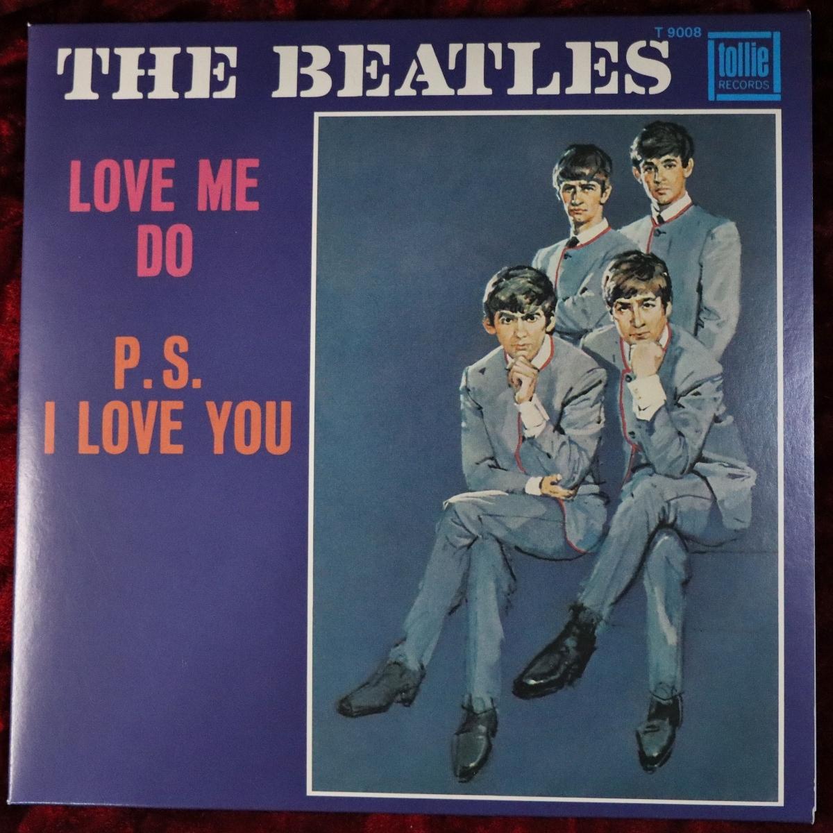 The Beatles/ビートルズ LOVE ME DO / P.S. I LOVE YOU 2019シングルボックス バラ EU盤 (US盤スリーブアート) 21C25009