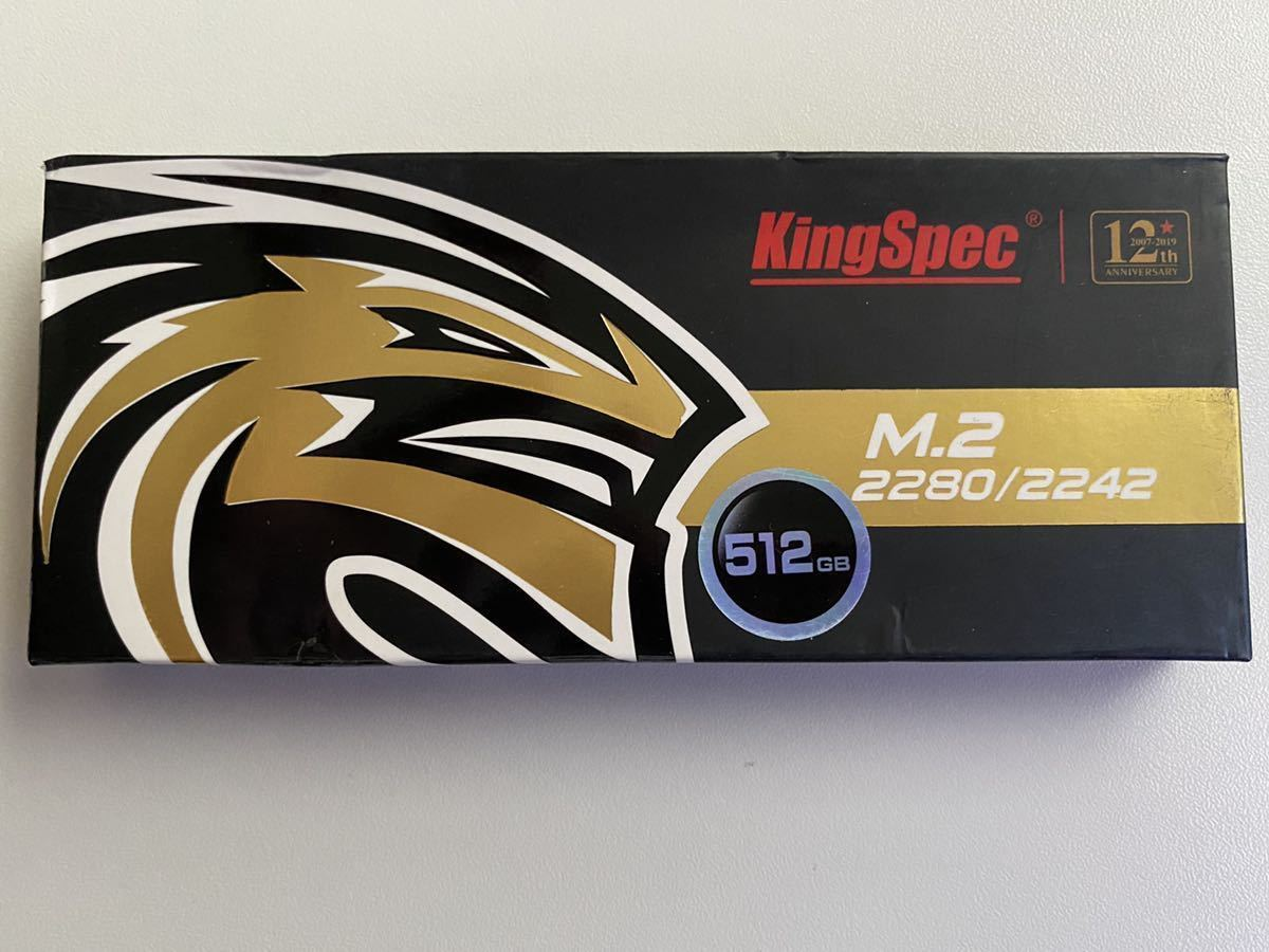 KingSpec SSD M.2 SATA 2242 512GB 493