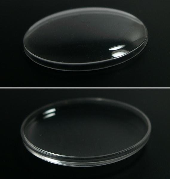 30.6mm ドーム形プラ風防 (アクリル) 新品 _画像3