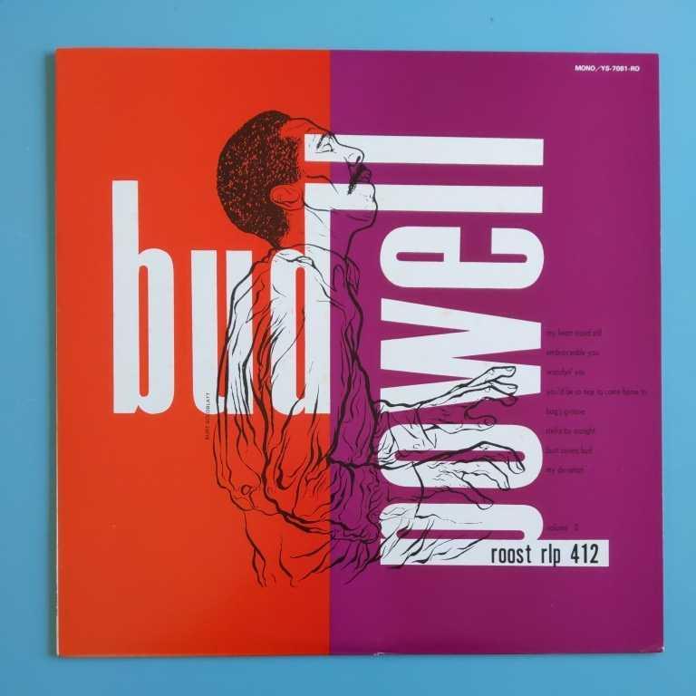 【美盤/試聴済LP】Bud Powell Trio『バド・パウエルの芸術』A面マックス・ローチ(dr)カーリー・ラッセル(b)★Columbia YS-7081-RO_画像1