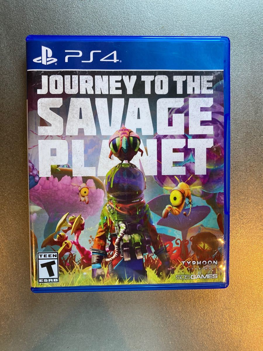 PS4ソフト 北米版 Journey to the Savage Planet