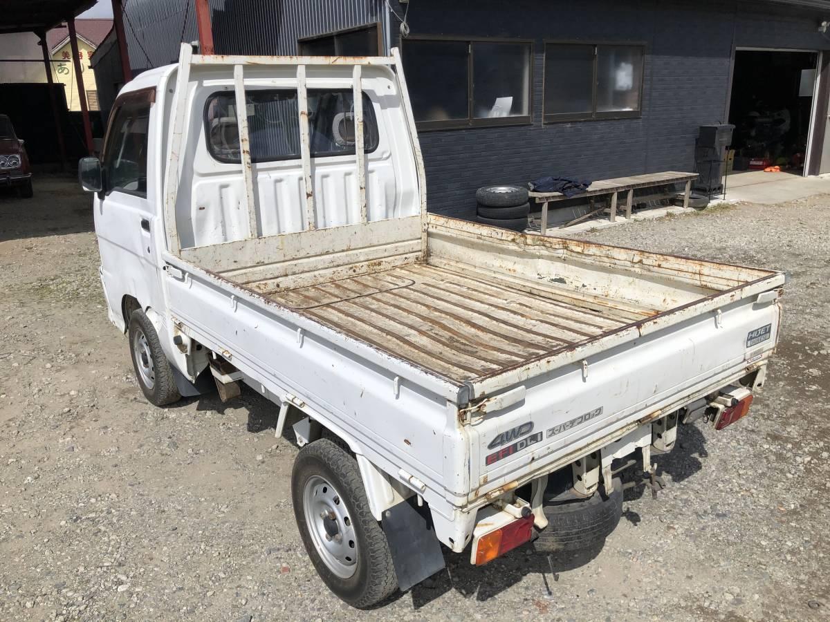 「ハイゼットトラック 4WD切替 5速MT ダンプ 走行82900km デフロック 軽ダンプ ホワイト」の画像3