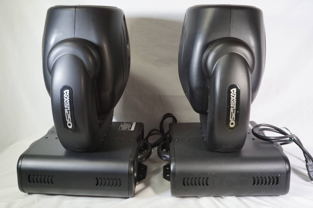 ★ ELATION ムービングライト Power Wash 250 2台セット 舞台照明 動作品 現状 ★_画像7