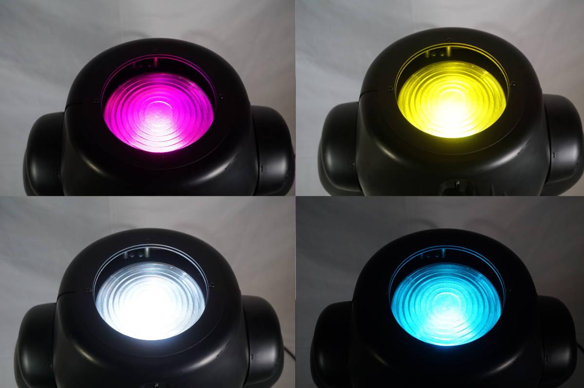 ★ ELATION ムービングライト Power Wash 250 2台セット 舞台照明 動作品 現状 ★_画像2