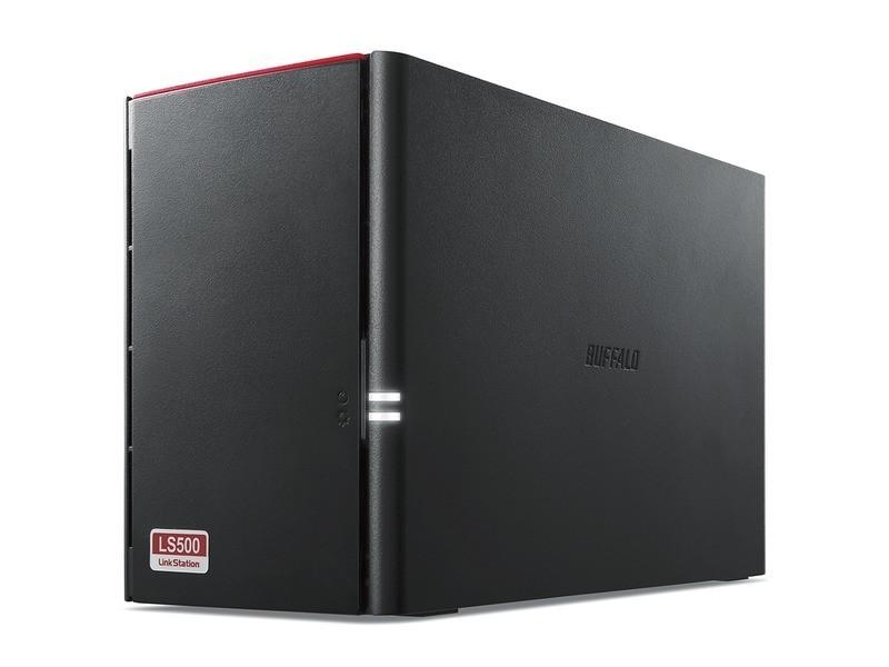 BUFFALO LS520D0402G 4TB ネットワークHDD(NAS) デュアルコアCPU RAID1 ミラーリング機能 スマホ・タブレット対応