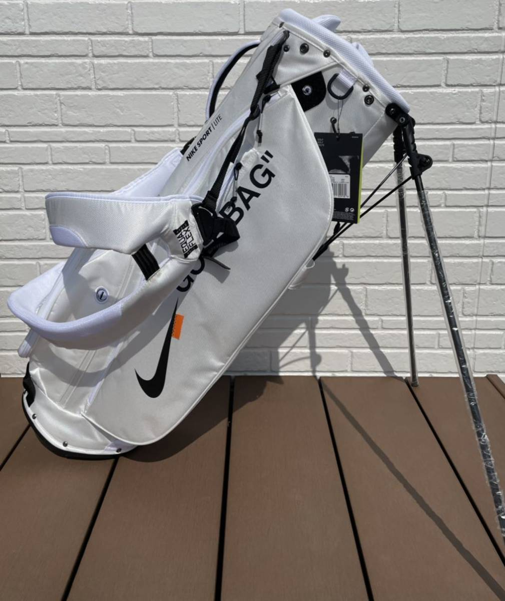 オリジナルNikeゴルフバッグ【ホワイト】_画像1
