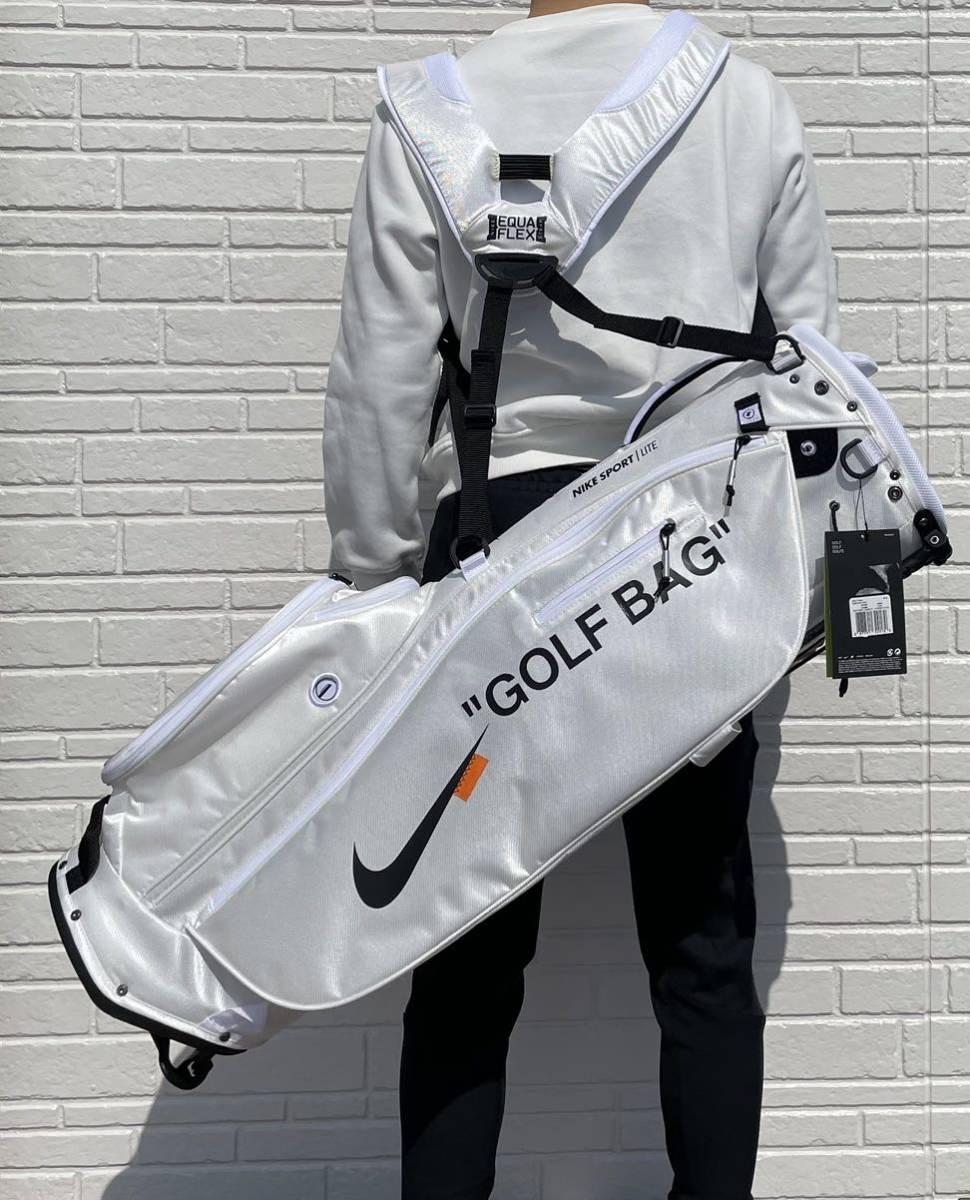 オリジナルNikeゴルフバッグ【ホワイト】_画像5