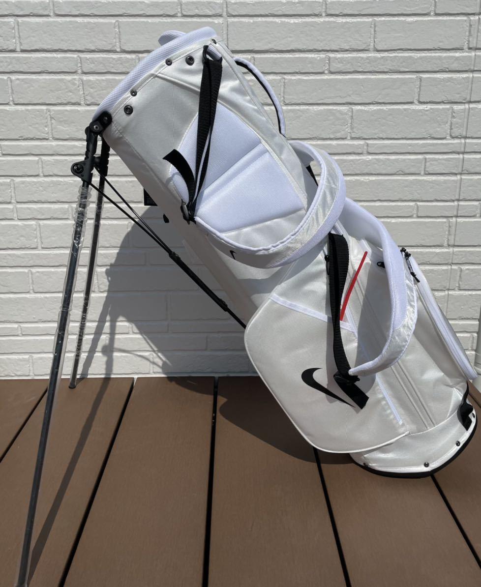 オリジナルNikeゴルフバッグ【ホワイト】_画像2