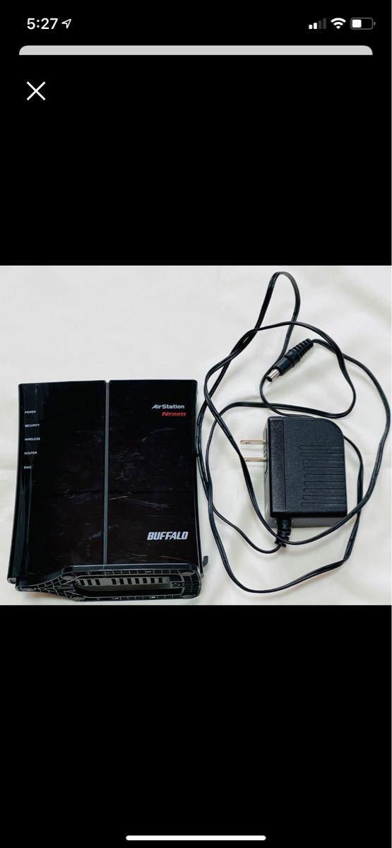 wifi中継機ルーターBUFFALO WHR-HP-G300 アダブターあり