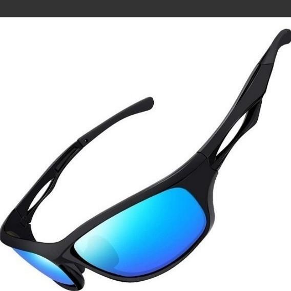 Joopin スポーツサングラス メンズ 偏光 サングラス UV400保護 紫外線カット超軽量 自転車/運転/釣り/野