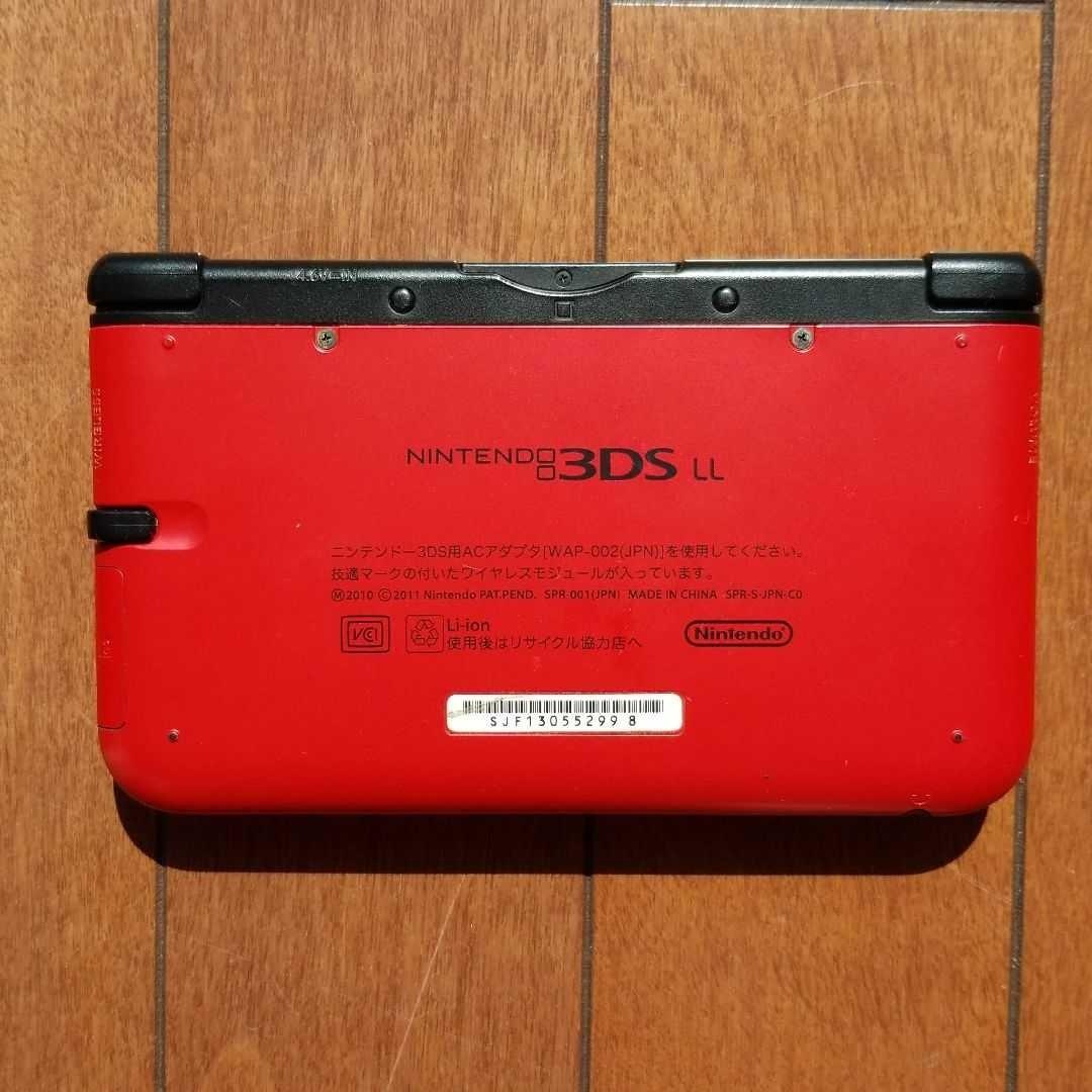 ニンテンドー3DS LL レッド ブラック Nintendo