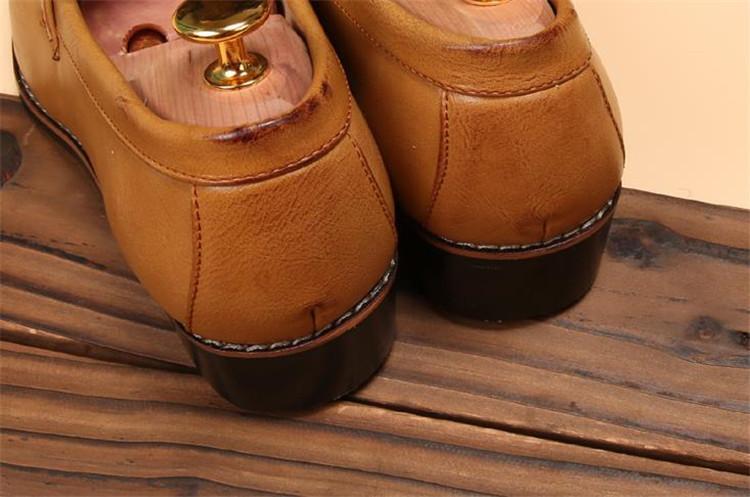 ローファー メンズ スリッポン ビジネスシューズ ドライビングシューズ 学生靴 紳士靴 タッセル ローカット ブラウン 26.5cm_画像9