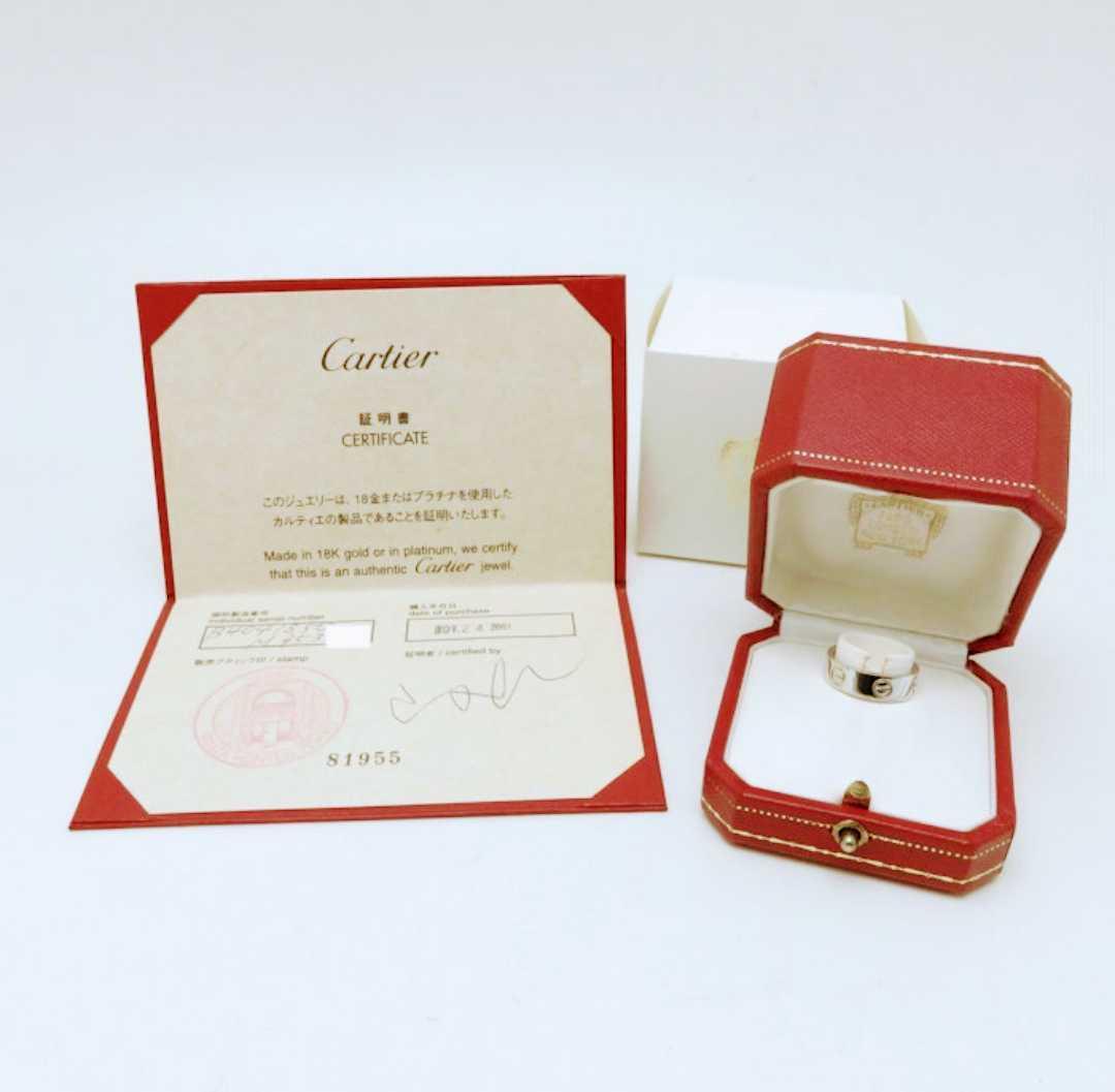 ★★ 超美品 Cartier カルティエ ラブリング プラチナ★★_画像1