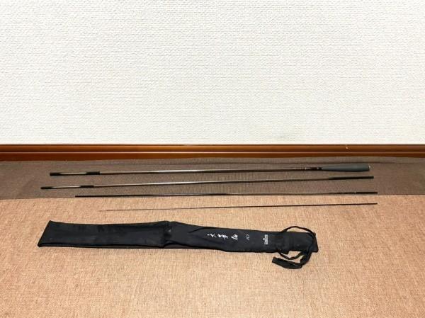 10001* Daiwa ダイワ 六華仙 10尺 ヘラブナ へら竿 釣り具 釣り竿 保管袋付き