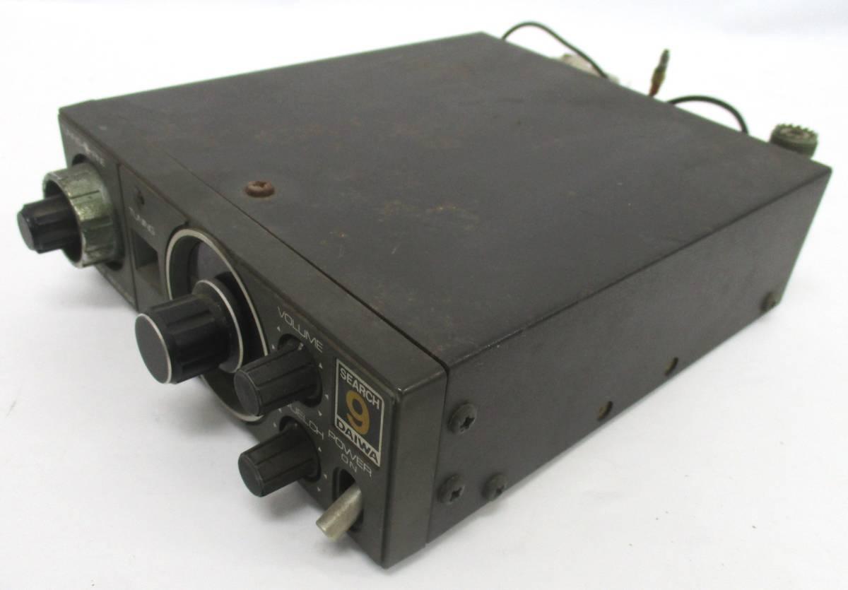 DAIWA 12v search 9 SR-9 VHF FM RECEIVER アマチュア無線 動作未確認 画像にて判断して下さい_画像1