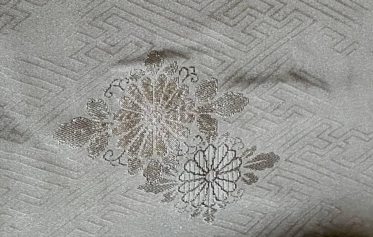 黒ラメシルク正絹着物生地はぎれハンドメイドリメイク素材