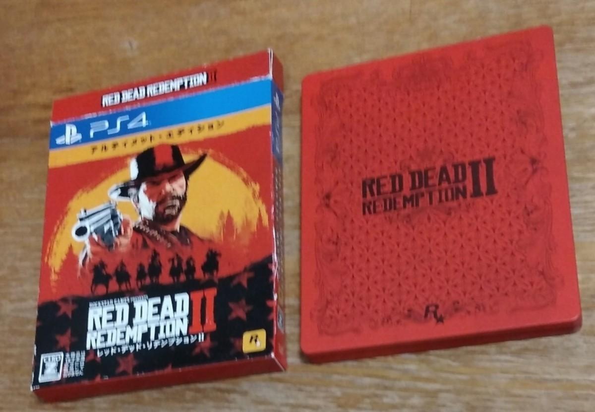 PS4 レッド・デッド・リデンプション2:アルティメット・エディション