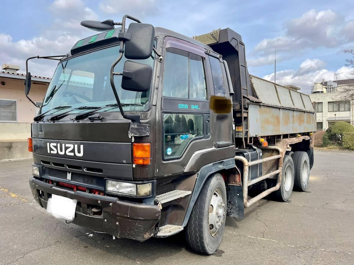 「【平成7年式】いすゞ ギガ ダンプ 走行1.358.527km 最大積載量8.900kg 車検令和3年9月8日まで」の画像1