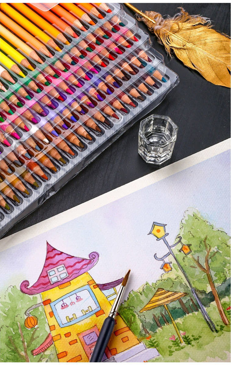 沢山使える♪48色セットでお得!!色鉛筆 オイルカラー アーティスト 絵画 写生 学校 画材 塗り絵_画像6