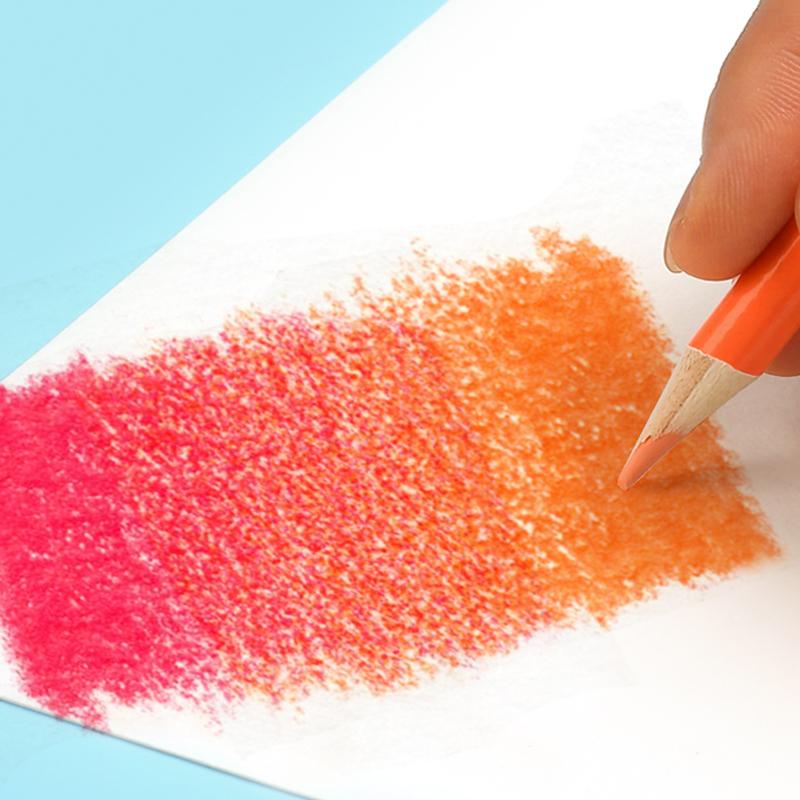 沢山使える♪48色セットでお得!!色鉛筆 オイルカラー アーティスト 絵画 写生 学校 画材 塗り絵_画像3