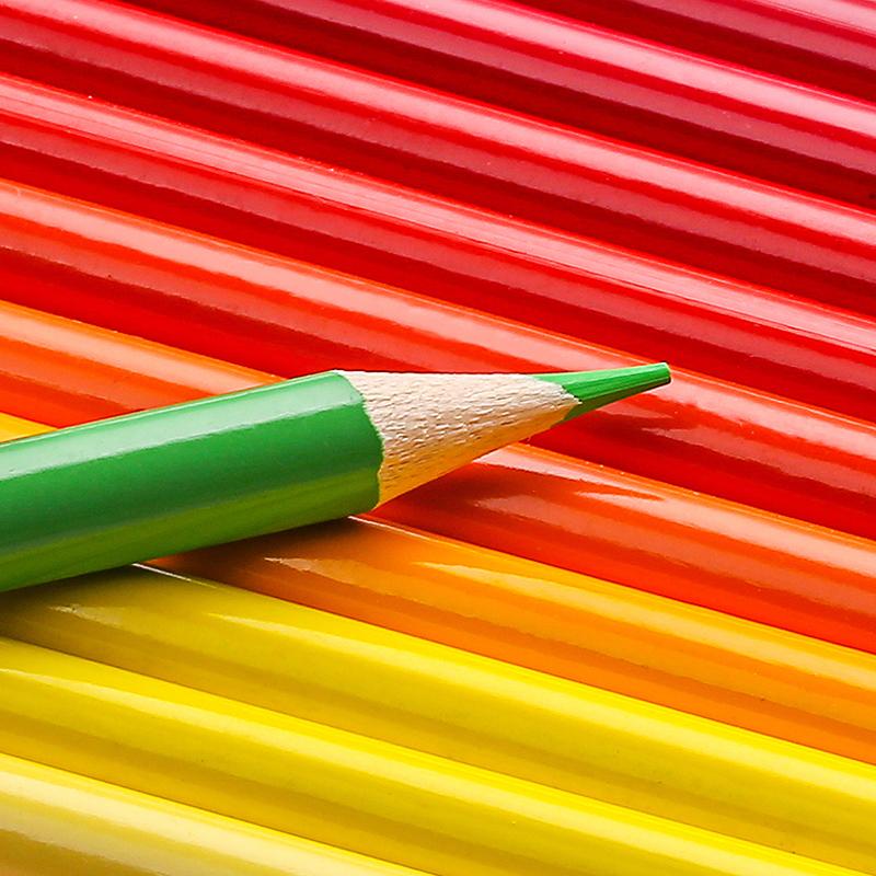 沢山使える♪48色セットでお得!!色鉛筆 オイルカラー アーティスト 絵画 写生 学校 画材 塗り絵_画像4