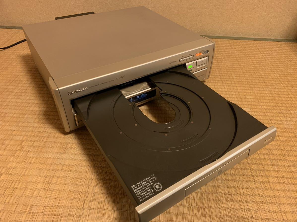 Pioneer CLD-R6G LDプレーヤー 電源ケーブルのみ 動作確認済み_画像2