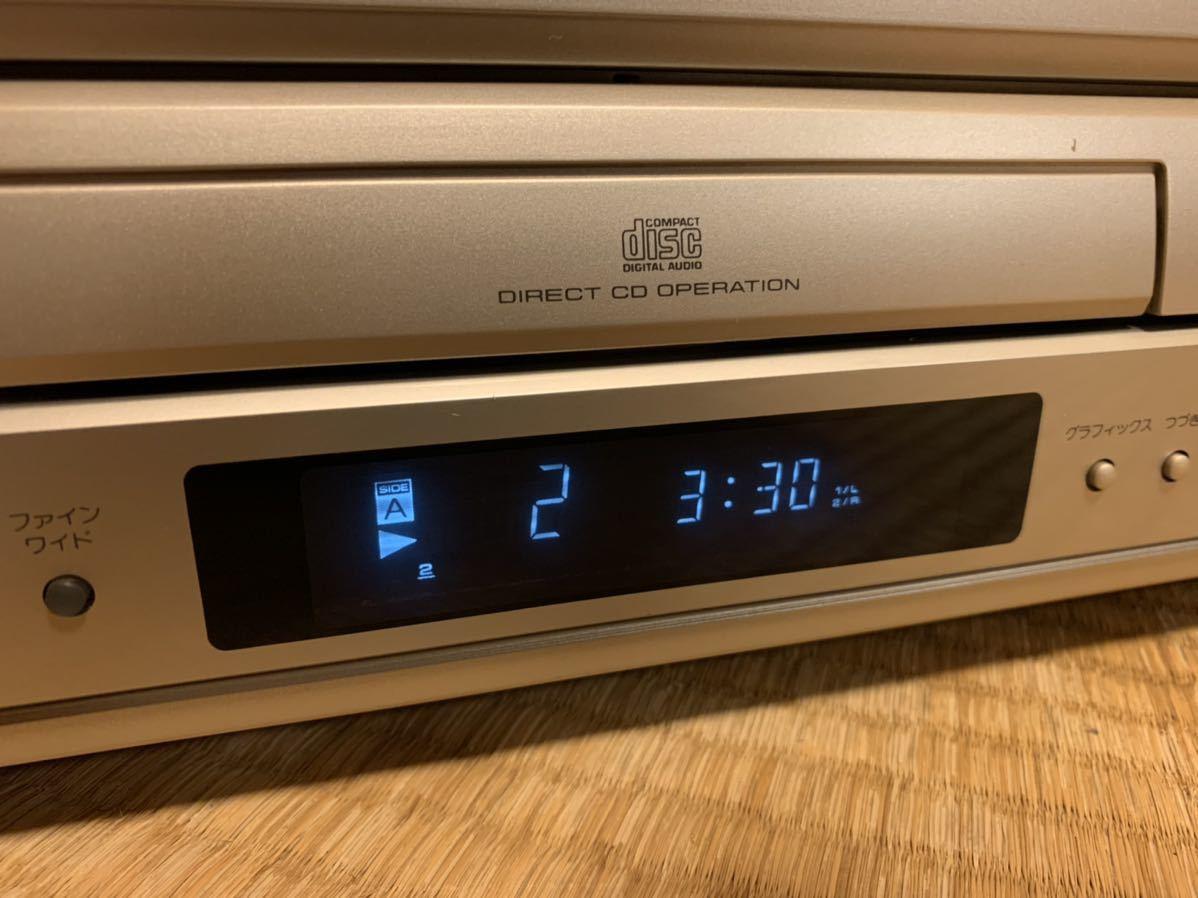 Pioneer CLD-R6G LDプレーヤー 電源ケーブルのみ 動作確認済み_画像3